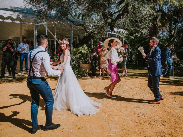 La boda de Ramiro y Lourdes  en Santiponce, Sevilla 39