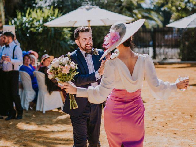 La boda de Ramiro y Lourdes  en Santiponce, Sevilla 40