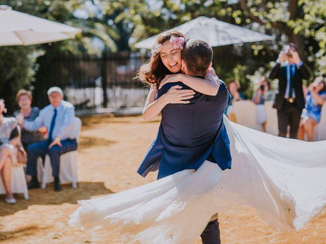 La boda de Ramiro y Lourdes  en Santiponce, Sevilla 42