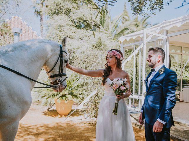 La boda de Ramiro y Lourdes  en Santiponce, Sevilla 58
