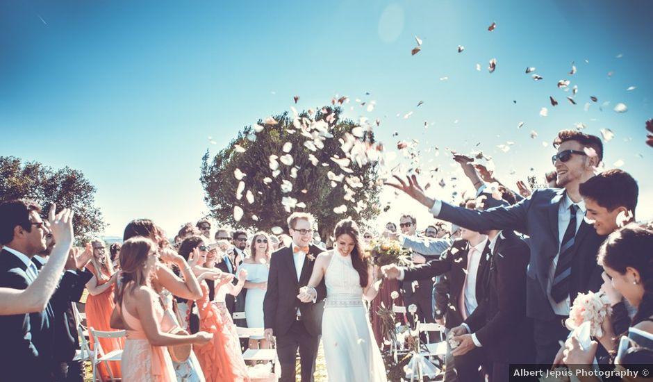 La boda de Niklas y Marina en Pals, Girona