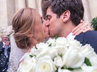 La boda de Christelle y Edoardo