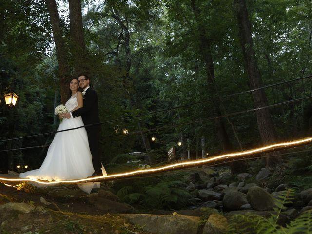 La boda de Xavier y Estefania