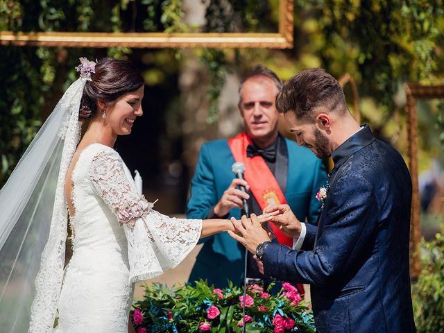 La boda de José y Alejandra en Alfajarin, Zaragoza 35