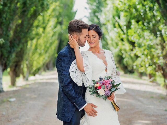 La boda de José y Alejandra en Alfajarin, Zaragoza 42