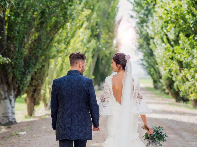 La boda de José y Alejandra en Alfajarin, Zaragoza 46