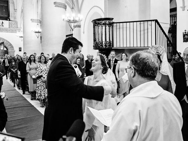 La boda de Andrés y Laura en Zafra, Badajoz 17