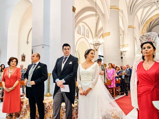 La boda de Andrés y Laura en Zafra, Badajoz 18