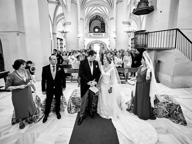 La boda de Andrés y Laura en Zafra, Badajoz 19