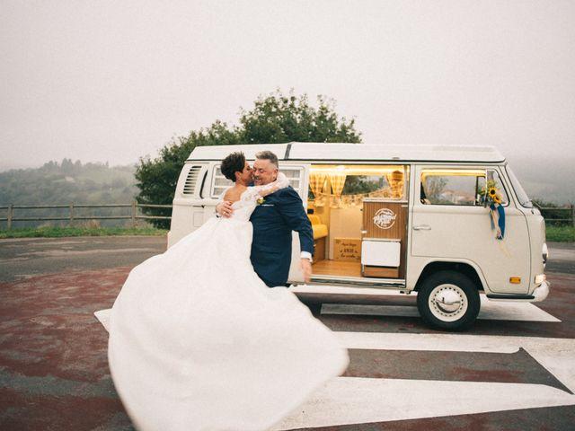 La boda de Almudena y Valle
