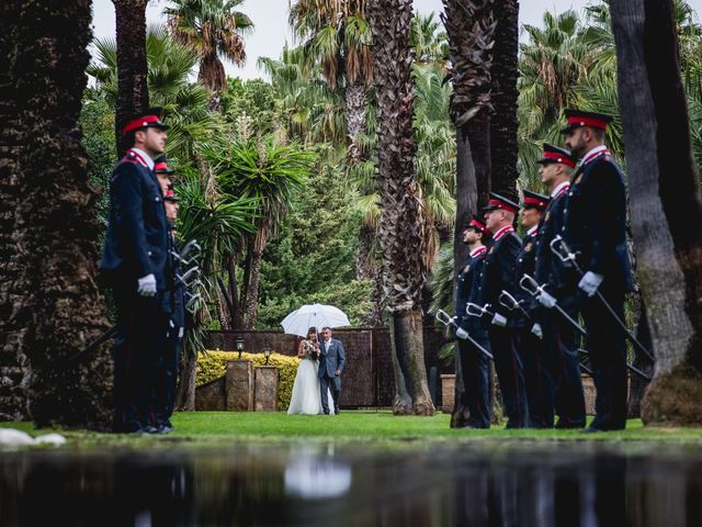 La boda de Manel y Cristina en Sant Vicenç De Montalt, Barcelona 27
