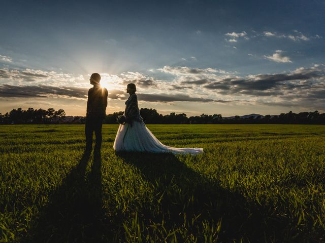 La boda de Cristina y Manel