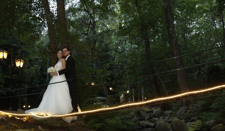 La boda de Estefania y Xavier en Riells, Girona