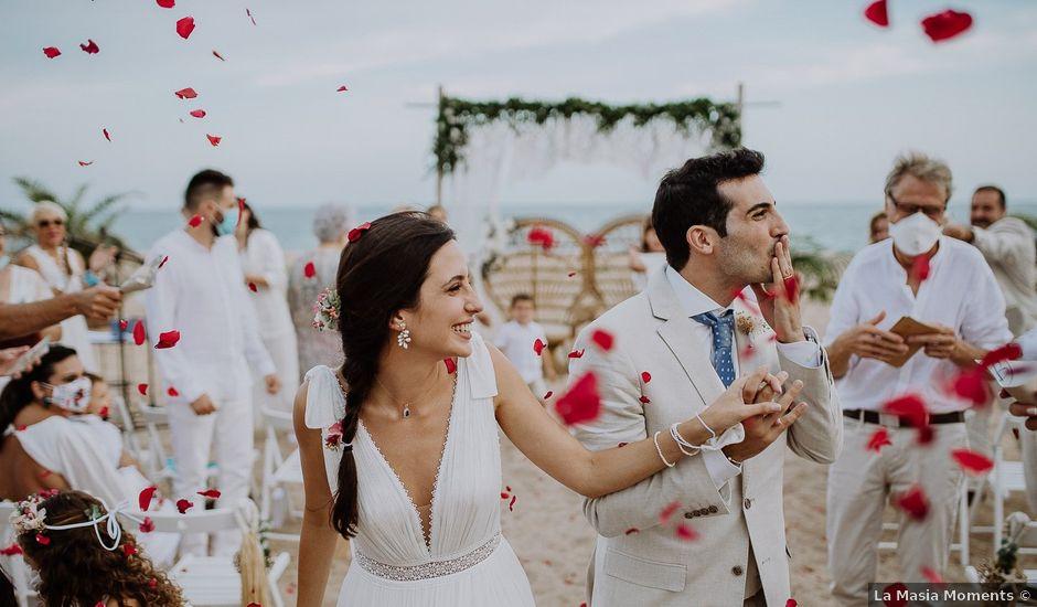 La boda de David y Anabel en Malgrat De Mar, Barcelona