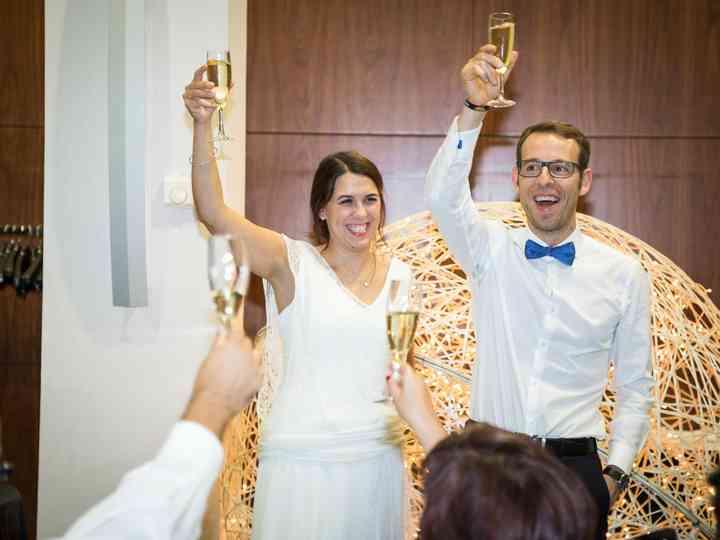 La boda de Dolors y Oriol