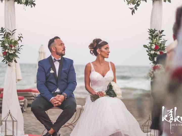 La boda de Kinga y Miguel