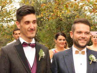 La boda de Abraham y Victor