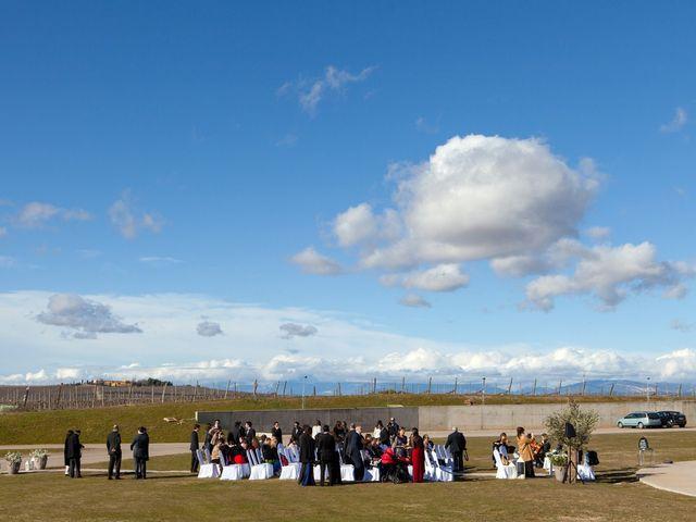 La boda de Daniel  y Julia  en Barbastro, Huesca 1