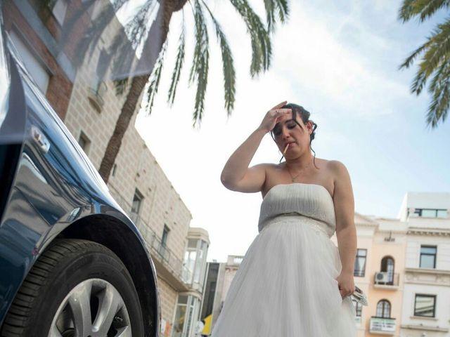 La boda de Oscar y María Ángeles  en Badalona, Barcelona 17