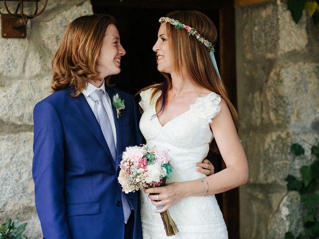 La boda de Fran y Mayka en Navalagamella, Madrid 6