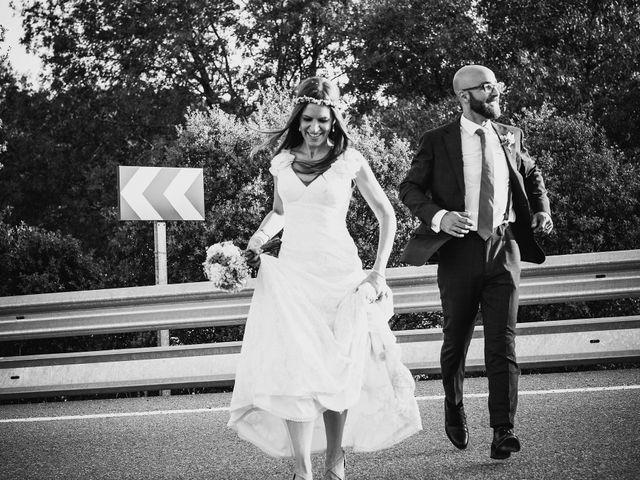 La boda de Fran y Mayka en Navalagamella, Madrid 7