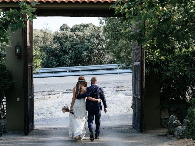 La boda de Fran y Mayka en Navalagamella, Madrid 9