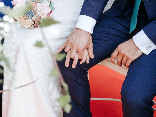 La boda de Fran y Mayka en Navalagamella, Madrid 11