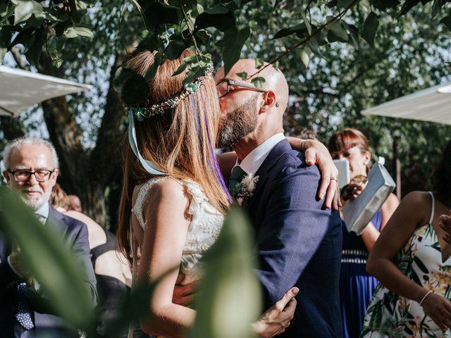 La boda de Fran y Mayka en Navalagamella, Madrid 1