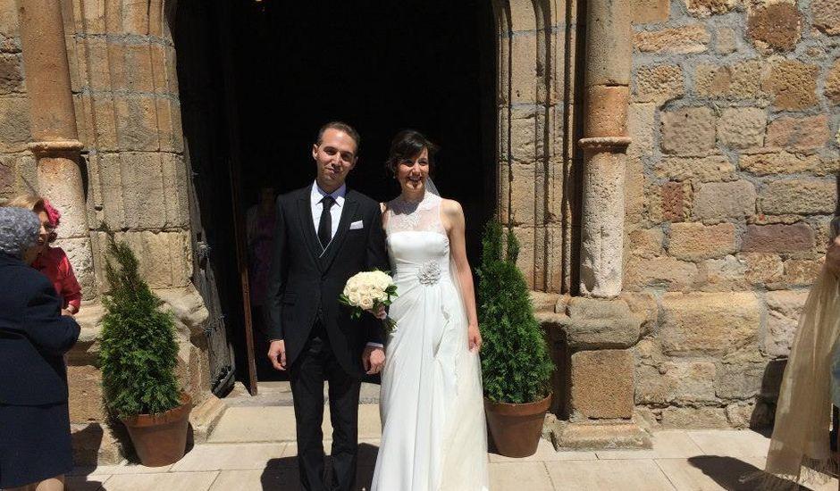 La boda de Diego y Ana en Barbadillo Del Pez, Burgos