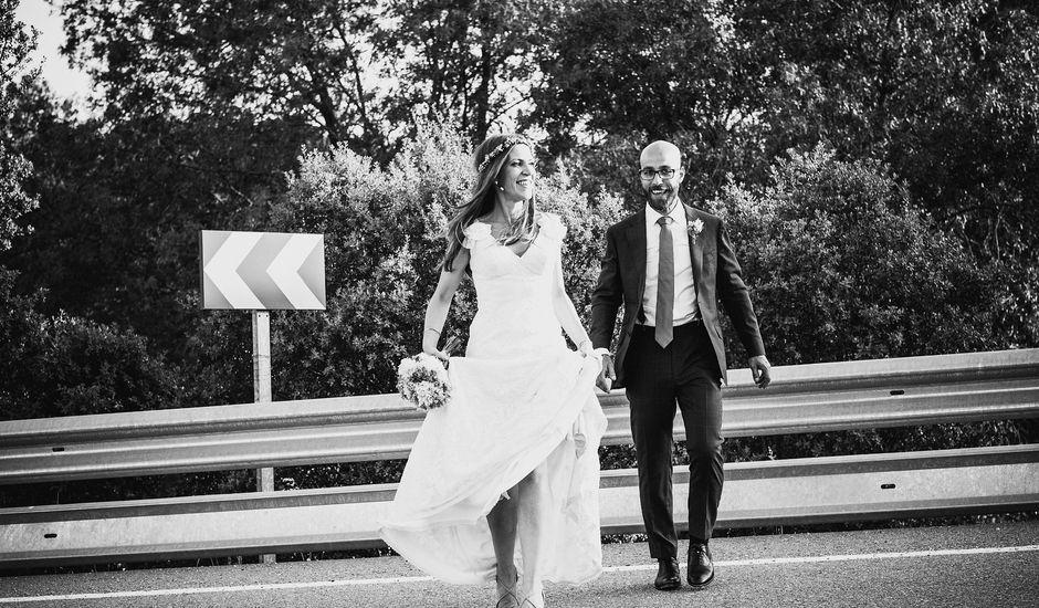 La boda de Fran y Mayka en Navalagamella, Madrid