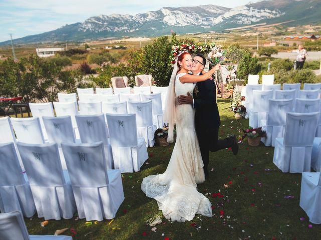 La boda de Fon y Laura en Laguardia, Álava 3