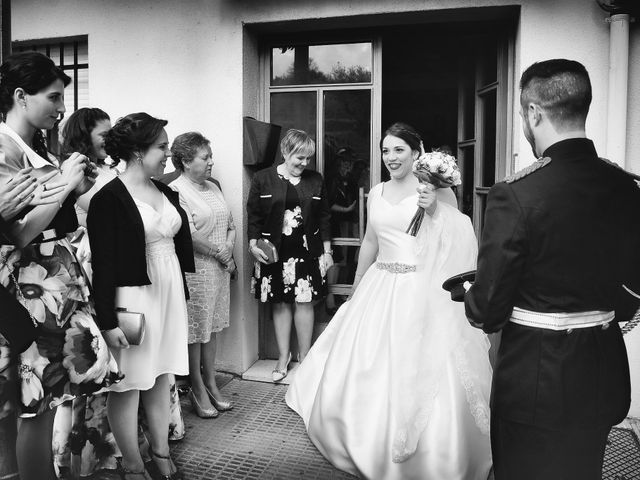 La boda de Saul y Alma en Jaraiz De La Vera, Cáceres 14