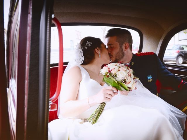 La boda de Saul y Alma en Jaraiz De La Vera, Cáceres 17