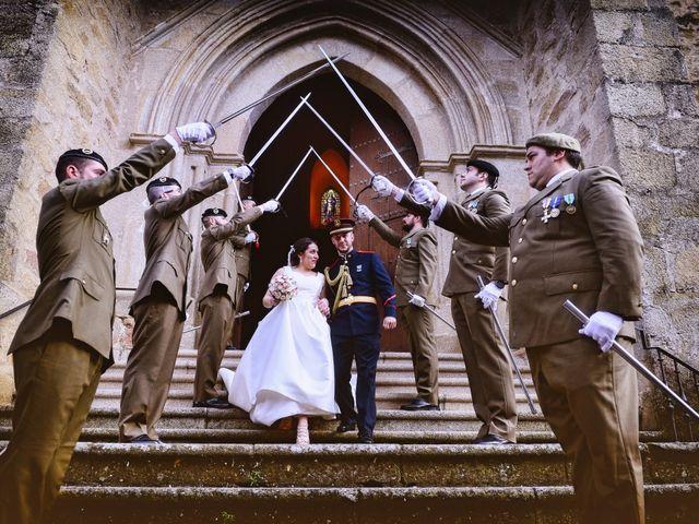 La boda de Saul y Alma en Jaraiz De La Vera, Cáceres 22