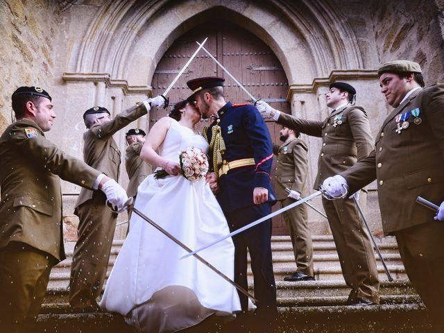 La boda de Saul y Alma en Jaraiz De La Vera, Cáceres 24