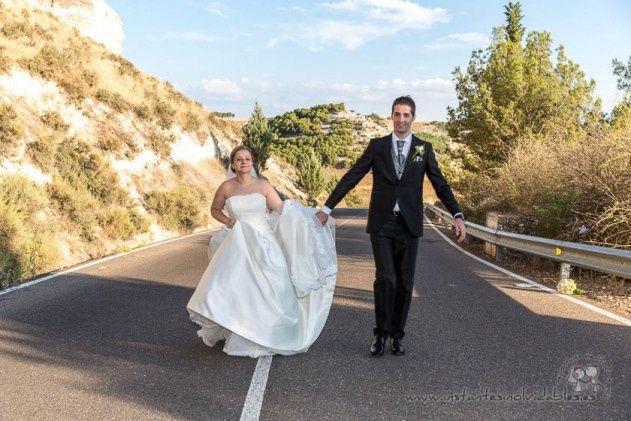 La boda de Sergio y Esther  en Peñafiel, Valladolid 5
