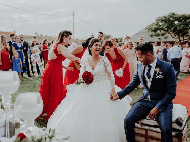 La boda de Alejandro y Noelia en Telde, Las Palmas 44