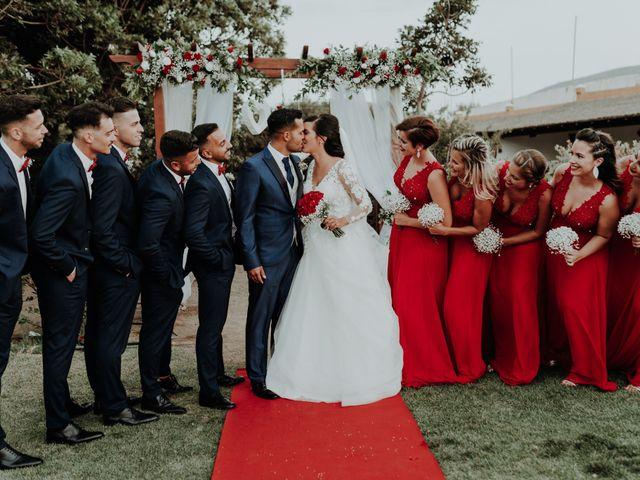 La boda de Alejandro y Noelia en Telde, Las Palmas 1