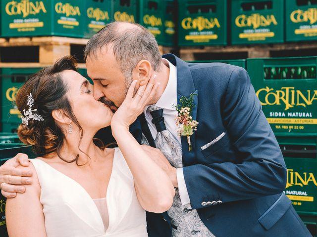 La boda de Fran y Paula en Amandi, Asturias 90