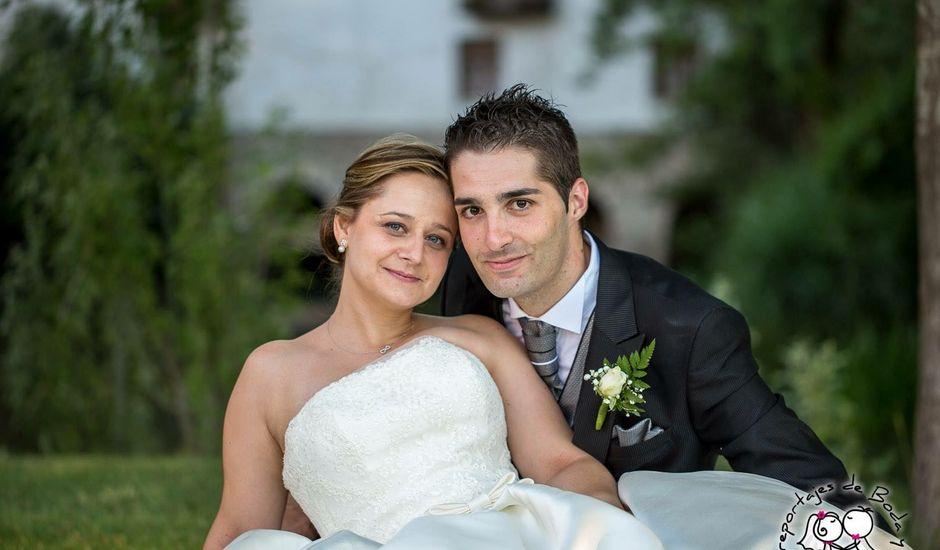 La boda de Sergio y Esther  en Peñafiel, Valladolid