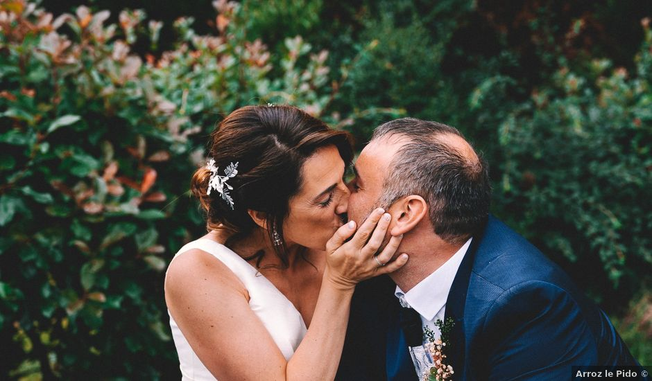 La boda de Fran y Paula en Amandi, Asturias