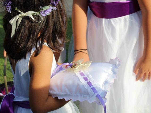 La boda de Joel y Sara en Sant Gregori (Municipio), Girona 2