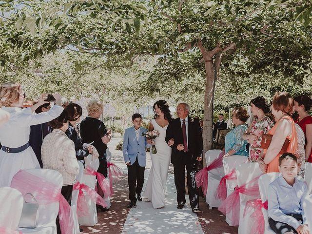 La boda de Juan y Ana en Rioja, Almería 67