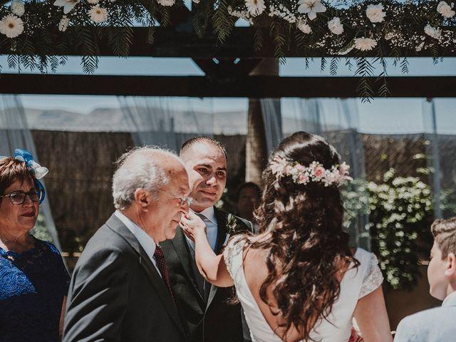La boda de Juan y Ana en Rioja, Almería 69