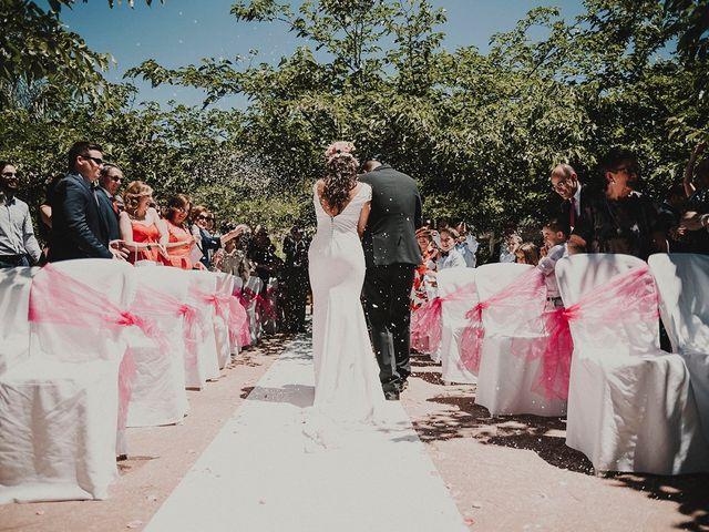 La boda de Juan y Ana en Rioja, Almería 91