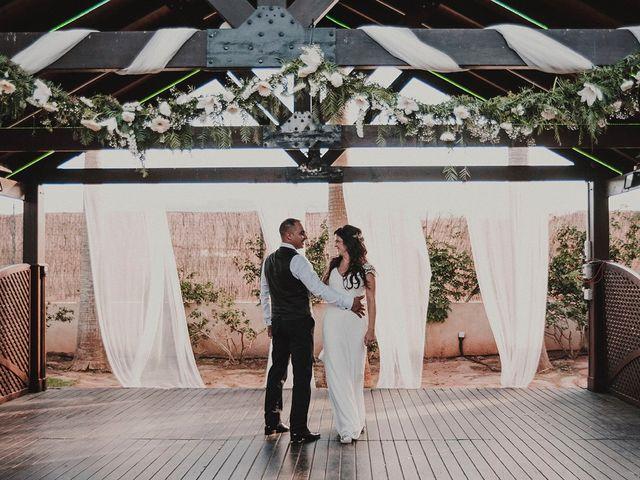 La boda de Juan y Ana en Rioja, Almería 121