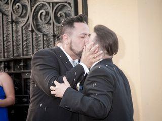 La boda de David y Arturo