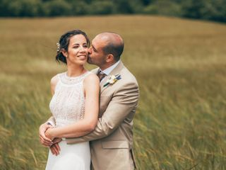 La boda de Nina y David
