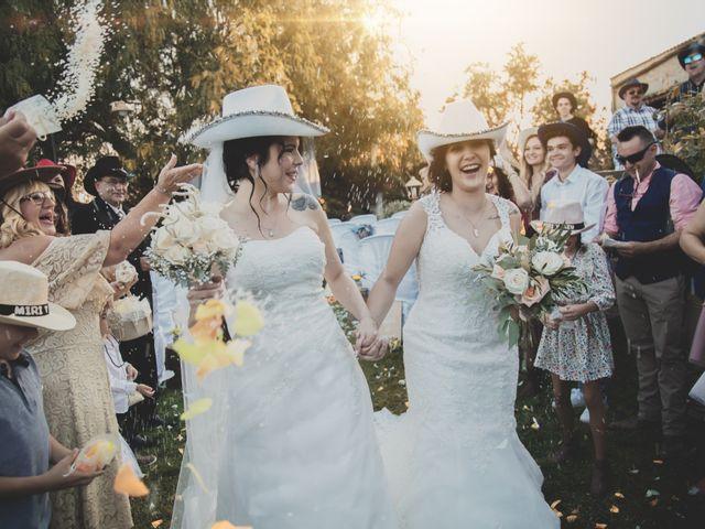 La boda de Miriam y Azucena