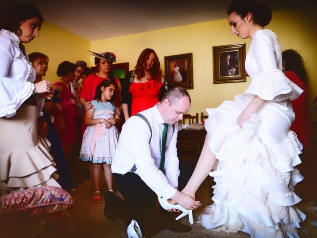 La boda de J. Manuel y Cristina en Majadas, Cáceres 9